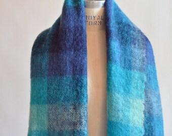 Vintage huge MOHAIR scarf
