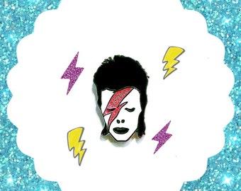 David Bowie - Enamel Pin