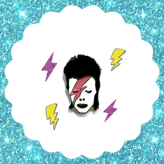 David Bowie - Enamel Pin
