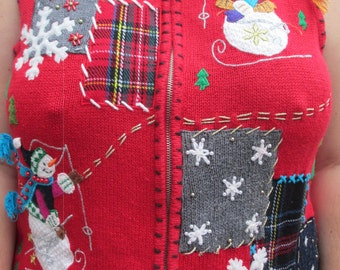 tacky sweater, ugly sweater, chrismtas sweater, christmas vest, tacky sweater vest, ugly sweater vest, sweater vest, tacky sweater party