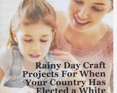 Rainy Day Craft Projects for When Your Country Has Elected a White Supremacist Who Openly Brags About Sexually Assaulting Women