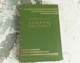 1925 FRENCH NOVEL Vintage Notebook Journal