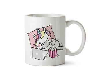 Unichill Mug | Coffee Mug | Unicorns | Gift | Unicorn Mug | Personalised