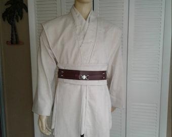 Star Wars Jedi Knight Obiwan Tunic Ensemble Sz. Medium 5 piece Costume Handmade