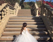Mini Bride Flower Girl Dress 1000