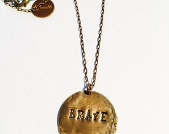 Brave Affirmation Necklace
