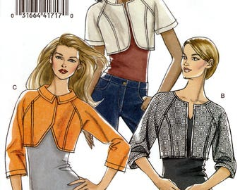 Vogue V8398 Sewing Pattern for Misses' Jackets - Uncut - Size 14, 16, 18, 20