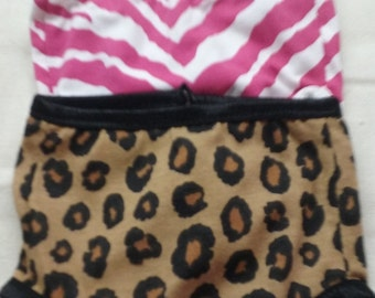 3 Pair of undies animal print