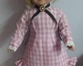 Prairie dress for 18 inch doll american girl