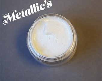 Metallic White Liquid Highlighter, White Metallic, White Metals, Liquid Highlighter