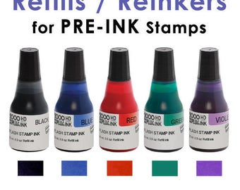 Reinker for PRE-INK Stamps from TheStampinPlace