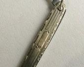 10K yellow gold pen knife Ornate Vintage gold
