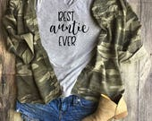 Best Auntie Ever Shirt / Aunt Tribe, Aunt Squad Tee, Favorite Aunt, Auntie to be, best aunt ever, best auntie gift, auntie to be