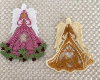 SALE - Angel of Bethlehem, Christmas Angel, Angel of Light, Holy Family Angel