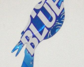 Bird Magnet - Big Blue Soda Can