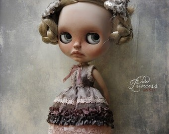 MIDNIGHT GUEST Victorian BLYTHE Dress By Odd Princess Atelier, Vintage Style, Special Outfit