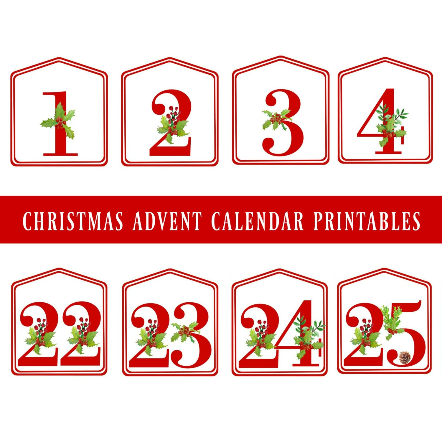 Magic image in christmas numbers printable
