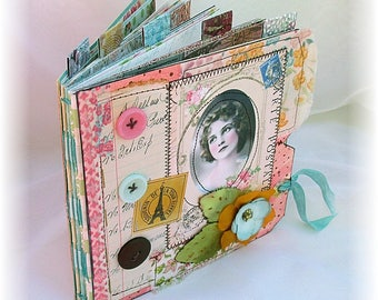 Photo Album, Smash Book, Scrapbook, French Beauty