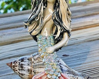Silver fox Mermaid