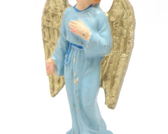 1950's Hand Painted Italian ANGEL for Christmas Nativity of Putz