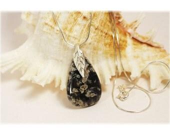 Leland Bluestone Necklace / Leland Bluestone Jewelry / LelandBluestone Slag
