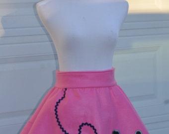 Poodle Skirt Apron, Woman's Aprons, Cute Aprons, Retro Apron