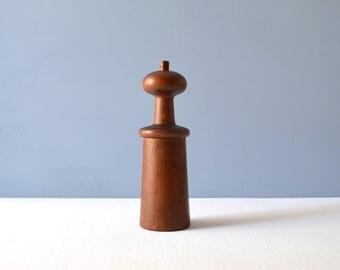 Vintage Dansk Teak Salt and Peppermill Denmark - JHQ Jens Quistgaard