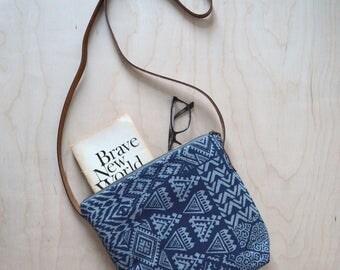 Shoulder Bag in Stencil - Cross Body Purse