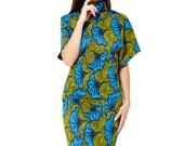 African Print Ankara Knitted  Winter High Neck Dress | Knitted Winter Dress | Knitted in England