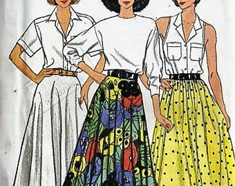 Butterick 3828 Circular Skirt Sewing Pattern