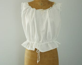 1910s corset cover | vintage edwardian camisole