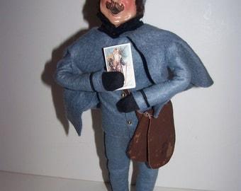 Byers Choice Mailman Christmas figure