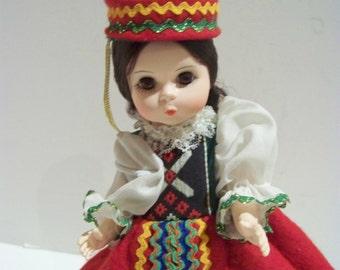 Czechlovakia Madame Alexander 8 in doll