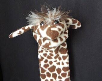 Toys, puppets, hand puppet, giraffe puppets giraffe