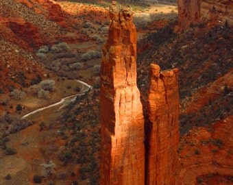 Spider Rock by Catherine Roché, Canyon de Chelly Photography, Arizona Desert Landscape Photography, Winter Desert Photography, Fine Art