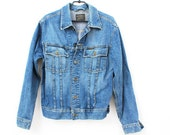 Vintage G Star Blue Denim Jacket Size 48