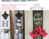 June 8th - Pinterest Project Night