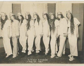 Sweet Dreams, 1919: 5x7 Vintage Snapshot Photo (73558)
