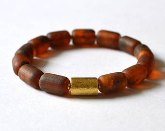 Amber bracelet, Natural Amber Jewelry, Pure Amber Bracelet, Modern Amber Gift