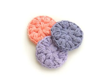 Cotton Face Scrubbies - Crochet cotton scrubby, Gift mother, Gift for wife, Gift girlfriend, Gift teacher, Makeup Removers, Mothers day gift