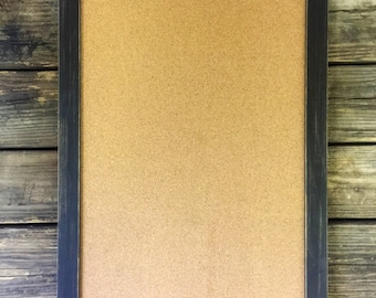 Large Cork Board-Cork Board-Rustic Cork Board-Framed Cork Board-Wood Cork Board-Corkboard-Large Bulletin Board-Push Pin-Large Corkboard