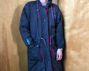 90s Long Winter Jacket