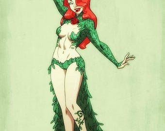 Poison Ivy: Haunted Arkham