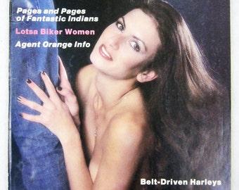Vintage Easyriders Magazine w/ David Mann Poster July 1981 #97 (mature)
