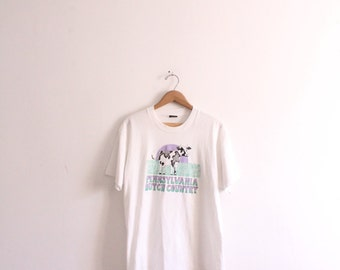 Dutch Country Cow T Shirt