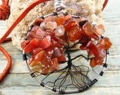 Tree of life necklace - C...