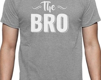 The Bro - Best Brother Gift Men Short Sleeve T-Shirt