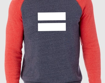 Equality Navy/Red Alternative Apparel Sweatshirt