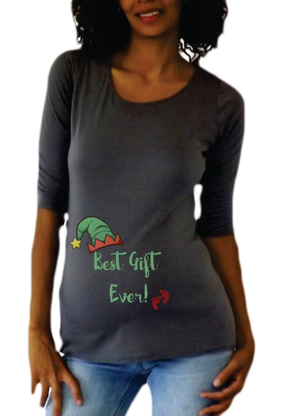 Items similar to christmas maternity shirt tee best gift for Funny christmas maternity t shirts