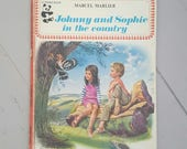 RESERVED for Patrycja Johnny & Sophie in the Country Marcel Marlier 1971 A Panda Book
